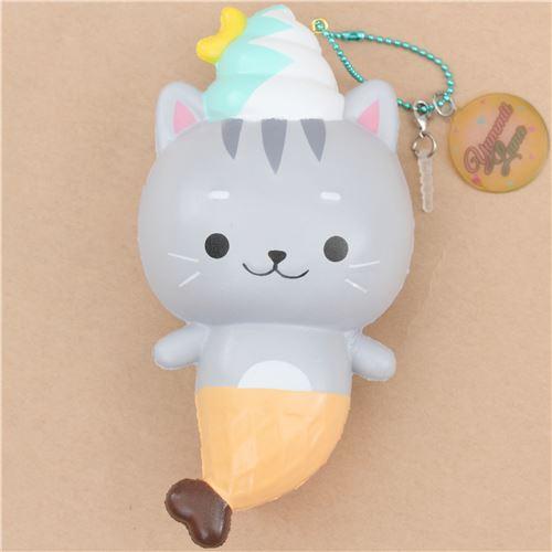 Squishy Cat Popsocket : Creamiicandy kitty cat ice cream mermaid scented squishy - Animal Squishies - Squishies - Kawaii ...