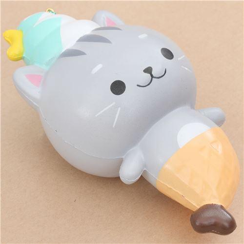 Soft And Squishy Cat Vine : Creamiicandy kitty cat ice cream mermaid scented squishy - Animal Squishies - Squishies - Kawaii ...