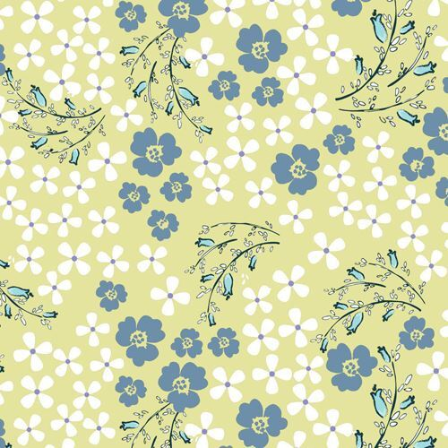 Light green white blue grey flower fabric by henry glass flower light green white blue grey flower fabric by henry glass 1 mightylinksfo
