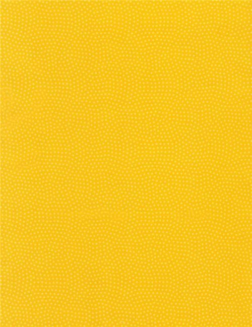 marigold yellow fabric with tiny dot circle by Timeless Treasures ...