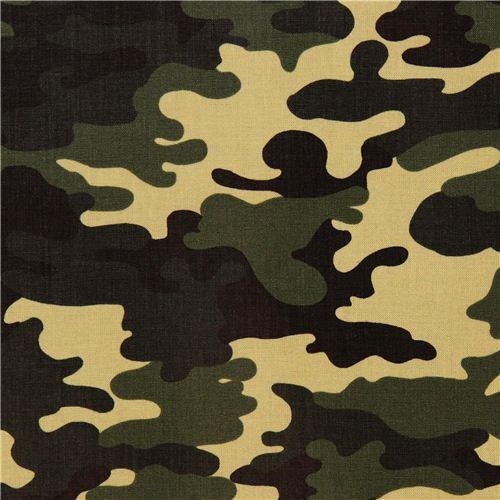 Tissu lamin robert kaufman patriots camouflage militaire - Les couleurs des tissus ...