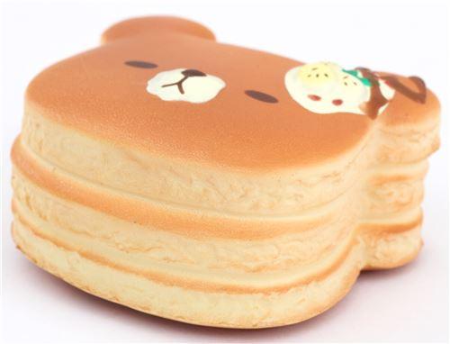 mini banana bear pancake squishy by puni maru - food squishy - squishies