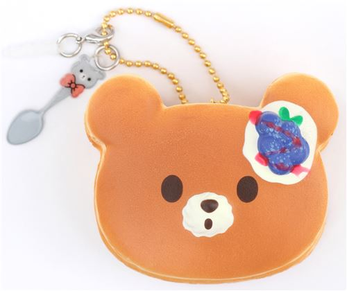 mini blueberry bear pancake squishy by Puni Maru - Food Squishy - Squishies - Kawaii Shop modeS4u