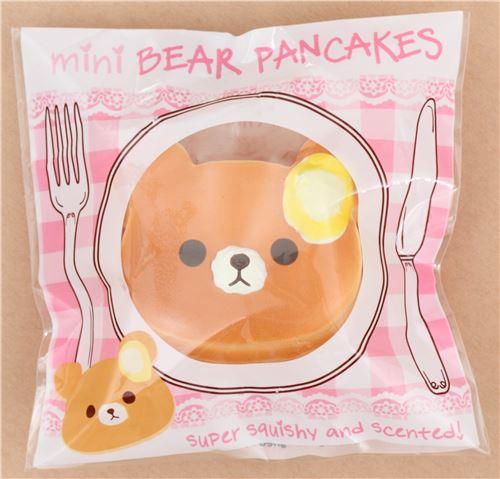 Mini Butter Bear Pancake Squishy By Puni Maru Food