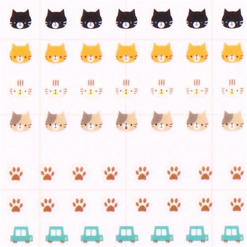 mini autocollants pour calendrier chats autos avions autocollants animaux autocollants. Black Bedroom Furniture Sets. Home Design Ideas