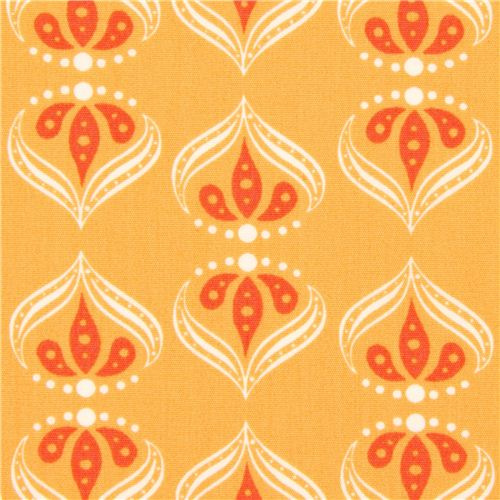 oranger monaluna orient muster rani bio stoff usa. Black Bedroom Furniture Sets. Home Design Ideas