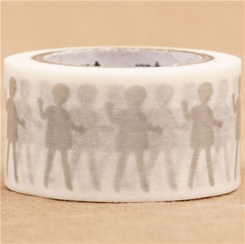 mt washi masking tape deco tape children silver washi masking tapes deco tapes stationery. Black Bedroom Furniture Sets. Home Design Ideas