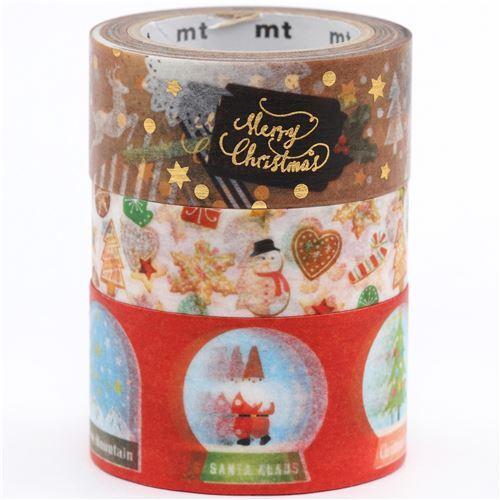 MTCMAS60 mt Christmas Christmas Message Japanese Washi Tape