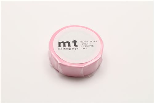 Mt washi tape deco tape solid light pink washi tape decorative mt washi masking tape deco tape solid light pink 3 aloadofball Images