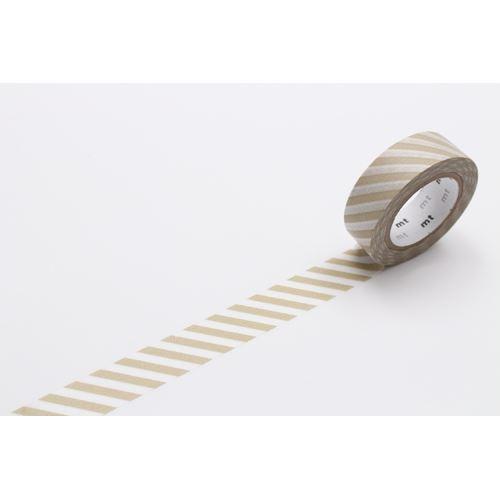 Mt washi masking tape deco tape stripes taupe washi masking tapes deco tapes stationery - Deco toiletten taupe ...