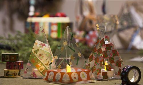 Nastro adesivo mt washi verde bastoncini di zucchero merry christmas nastri adesivi natalizi - Nastri decorativi natalizi ...
