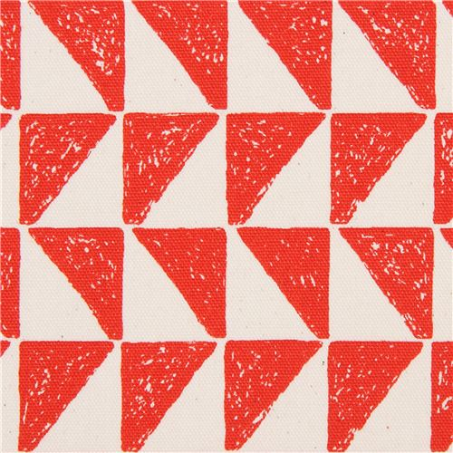 Natural Color Red Triangle Shape Oxford Fabric Cosmo An 1