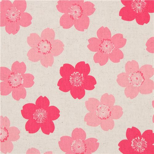 Natural color with cherry blossom flower laminate fabric from japan natural color with cherry blossom flower laminate fabric from japan 1 mightylinksfo