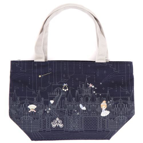 Navy Blue Fairy Tale Lunch Bag Removable Thermal From An