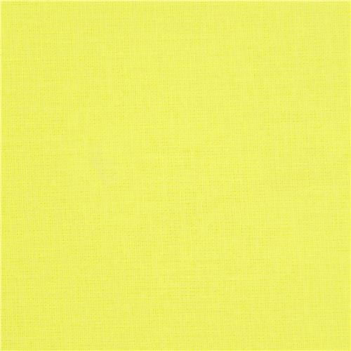 neon yellow michael miller cotton fabric dots stripes
