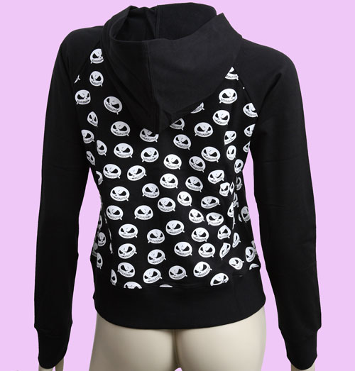 Black Nightmare before Christmas Hoodie size XL - Sweaters/Hoodies ...