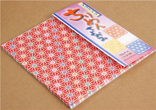 Origami paper set with flower pattern from japan other cute things origami paper set with flower pattern from japan 3 mightylinksfo