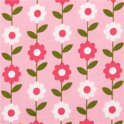 Pale pink daisy flower fabric riley blake summer song 2 flower pale pink daisy flower fabric riley blake summer song 2 2 mightylinksfo
