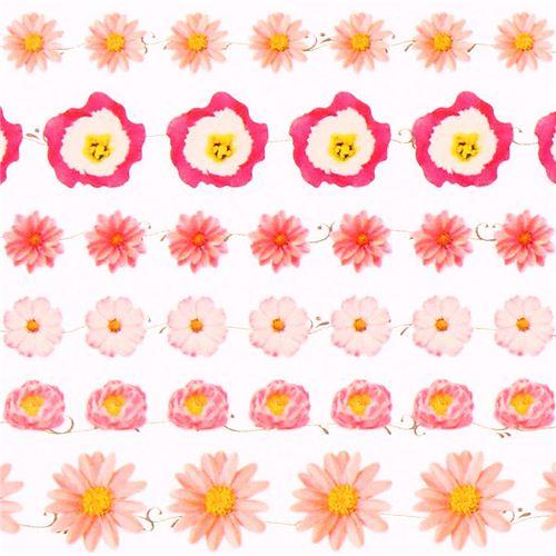 rosa gerbera rose lilie blumen sticker aus japan blumensticker sticker schreibwaren. Black Bedroom Furniture Sets. Home Design Ideas