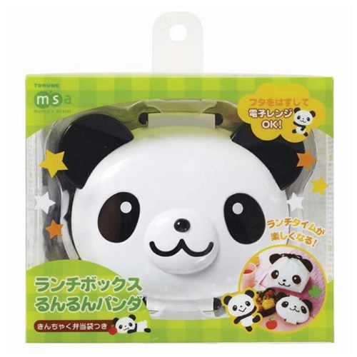 panda bear bento box lunch box with lunch bag from japan bentos bento boxes kawaii shop. Black Bedroom Furniture Sets. Home Design Ideas