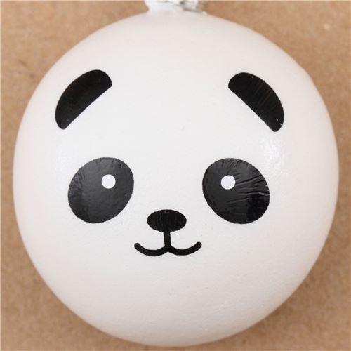 Super Squishy Panda Bun : panda bear bun squishy cellphone charm kawaii - Animal Squishy - Squishies - Kawaii Shop modeS4u