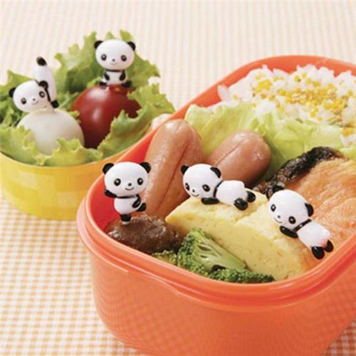 panda bear food picks for bento box lunch box bento accessories bento boxes kawaii shop. Black Bedroom Furniture Sets. Home Design Ideas