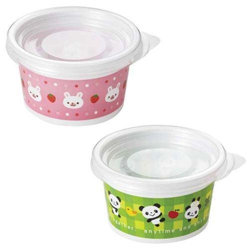panda bear rabbit bento lunch box fruit plastic cups bentos bento boxes kawaii shop modes4u. Black Bedroom Furniture Sets. Home Design Ideas