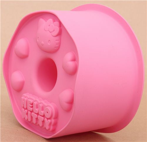 pink Hello Kitty silicone cake mold angel food cake mold Bento