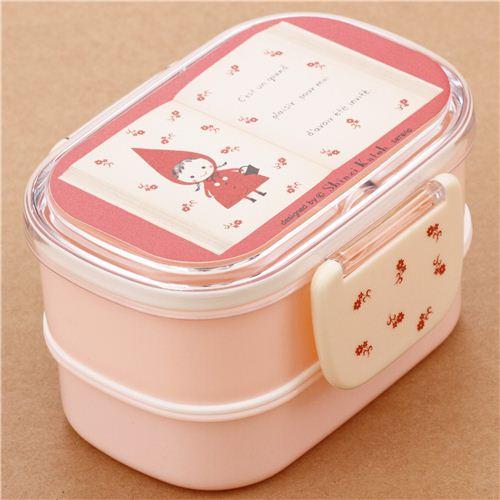 rosa rotk ppchen m rchenbuch bento box brotdose aus japan bento box bento boxen kawaii. Black Bedroom Furniture Sets. Home Design Ideas