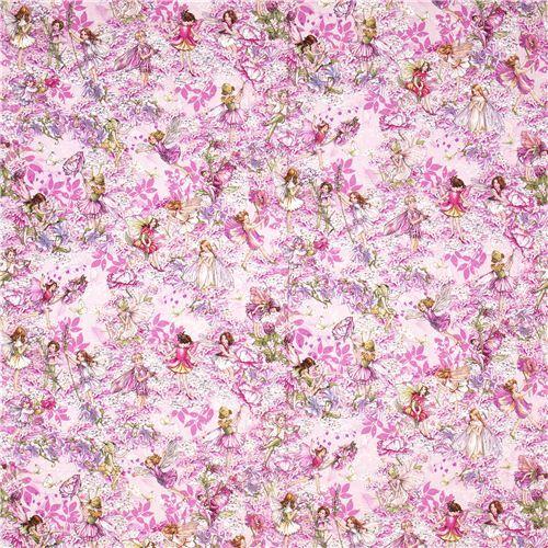 Pink michael miller fabric flowers fairies butterfly flower fabric pink michael miller fabric flowers fairies butterfly 2 mightylinksfo