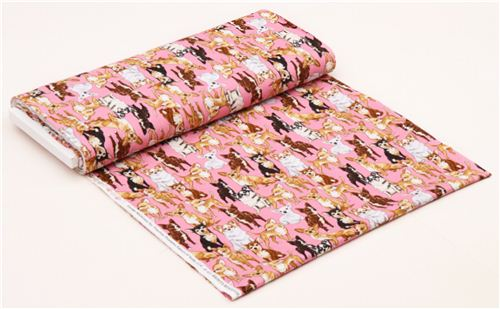 Pink Chihuahua Dog Fabric By Timeless Treasures Usa Modes4u