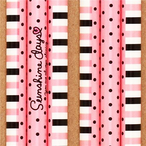 polka dot and stripe