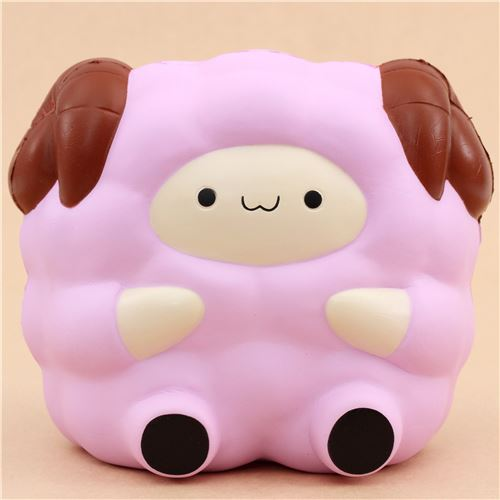 Adams Squishy Animals : purple Jumbo Pop Pop Sheep by Pat Pat Zoo squishy - Animal Squishy - Squishies - Kawaii Shop modeS4u