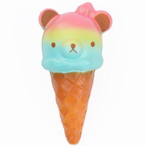 Squishy Ice Cream : rainbow bear ice cream food squishy - Food Squishy - Squishies - Kawaii Shop modeS4u