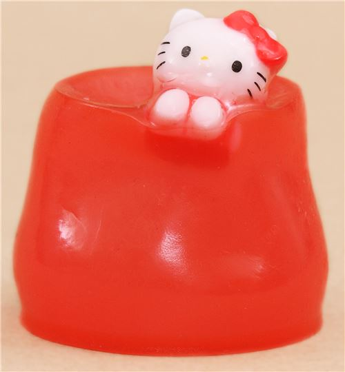 Red hello kitty jelly squishy kawaii food squishy - Cuisine hello kitty ecoiffier ...