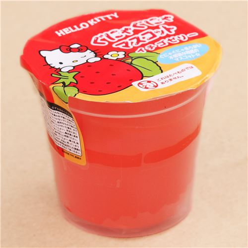 Soft Cat Food >> red Hello Kitty jelly squishy kawaii - modeS4u