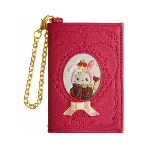Red Sentimental Circus Rabbit Wallet Coin Case Pouch By San X From