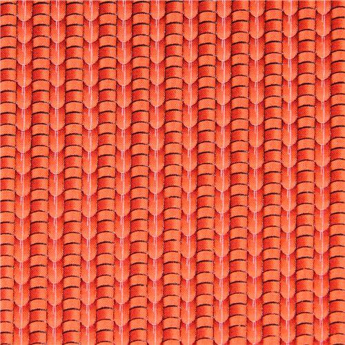 Rote Dachziegel rote dachziegel dach stoff landscape medley elizabeth 39 s studio punkte streifen karo stoffe