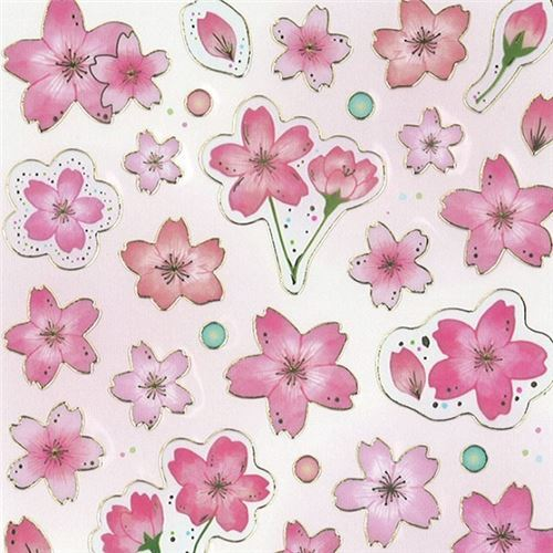 Sakura flower dot gold metallic embellishment stickers by mind wave sakura flower dot gold metallic embellishment stickers by mind wave 1 mightylinksfo