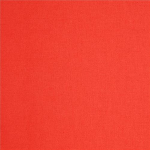 salmon red birch organic fabric from the USA one color 1
