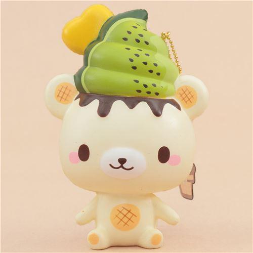scented Creamiicandy Kiwi Yummiibear squishy - Animal Squishies - Squishies - Kawaii Shop modeS4u