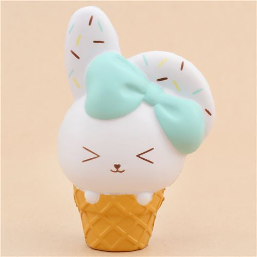 Squishy Squooshems Bunny : scented bunny ice cream squishy by Bunnys Cafe - Jumbo Squishy - Squishies - Kawaii Shop modeS4u