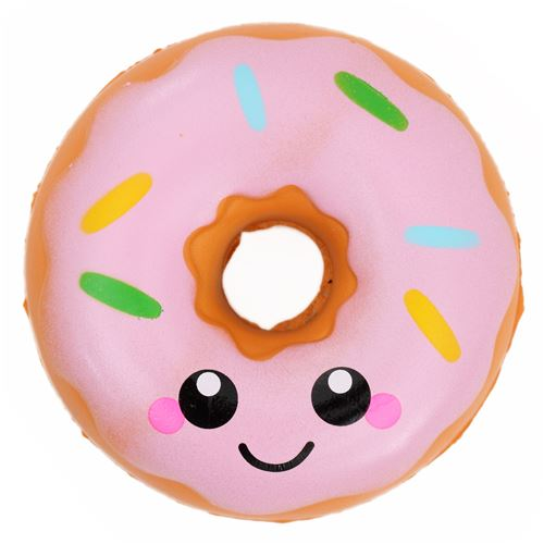 scented donut with pink icing squishy - Food Squishy - Squishies - Kawaii Shop modeS4u