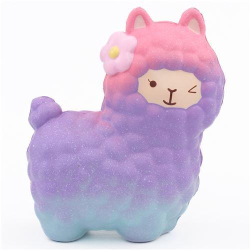scented galaxy alpacasso alpaca squishy by Vlampo - Animal Squishy - Squishies - Kawaii Shop modeS4u