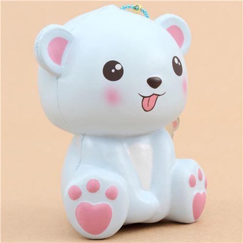 Squishy De Lish Jumbo : squishy jumbo animal perfumado oso polar azul sacando lengua Puni Maru - Squishy de Puni Maru ...