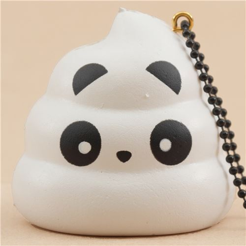 scented white Crazy Poo panda squishy by Puni Maru - Puni Maru Squishies - Squishies - Kawaii ...