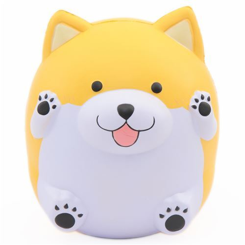 squishy profumato cucciolo giallo Jumbo Paw Paw Puppy Pat Pat Zoo - Squishy animali - Squishy ...