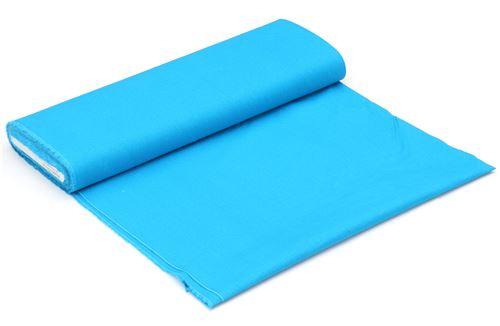 Tela De Lona Lisa En Color Azul Celeste Liso De Kokka Japon Telas - Color-azul-celeste