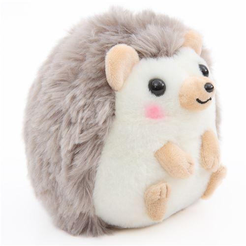 Small Light Cream Taupe Hedgehog Harin The Hedeghog Plush