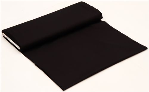 7a00d635cf8 solid black fabric Robert Kaufman USA Kona Black - Kawaii Fabric Shop
